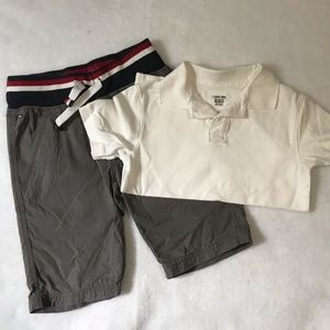 Tommy Hilfiger Boys Size 8/10 gray shorts